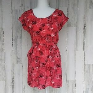 Candie's Floral Dress With Pockets